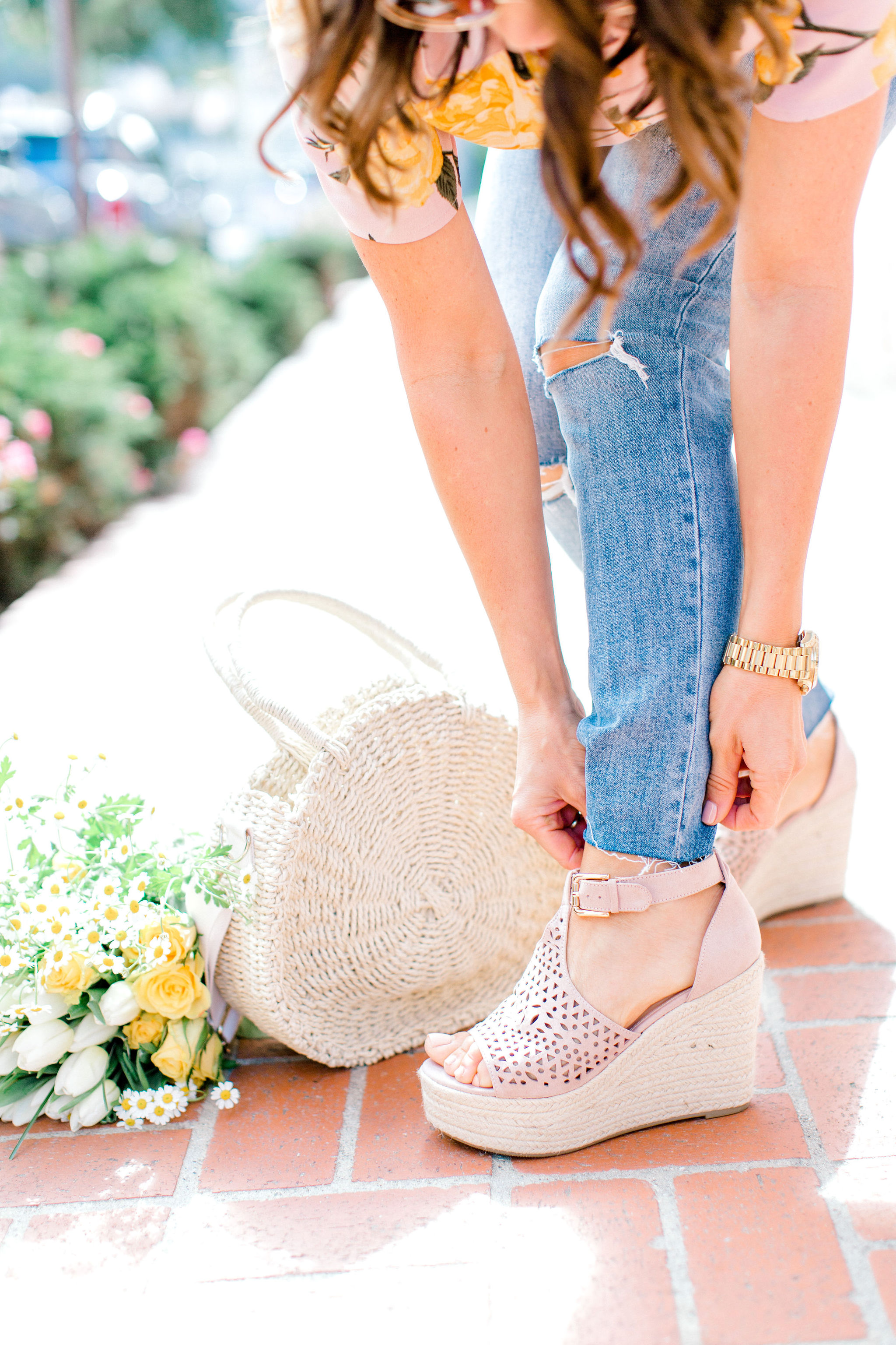 spring shoes with Just Fab