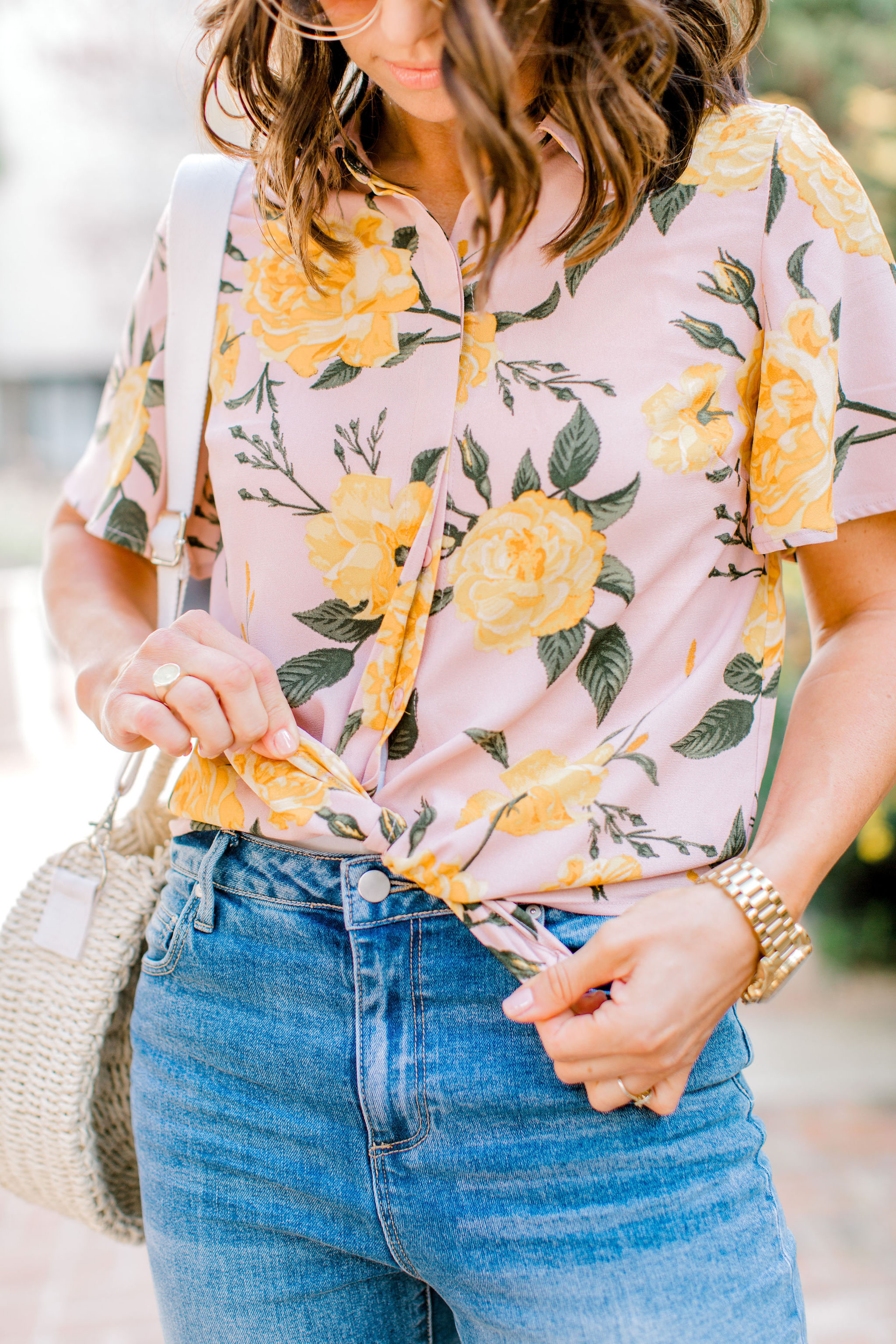 easy outfits for spring