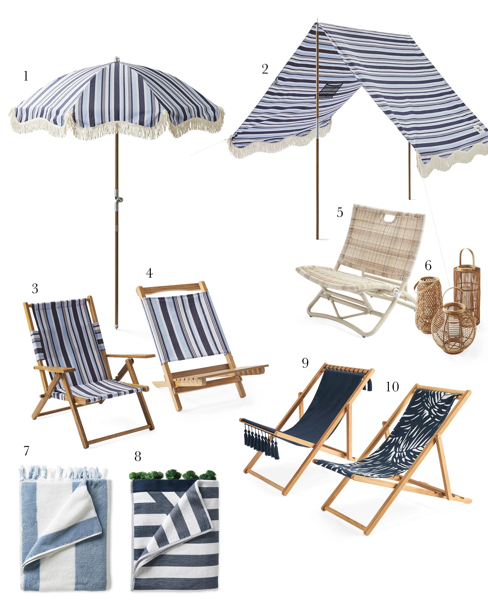 beach furniture essentials