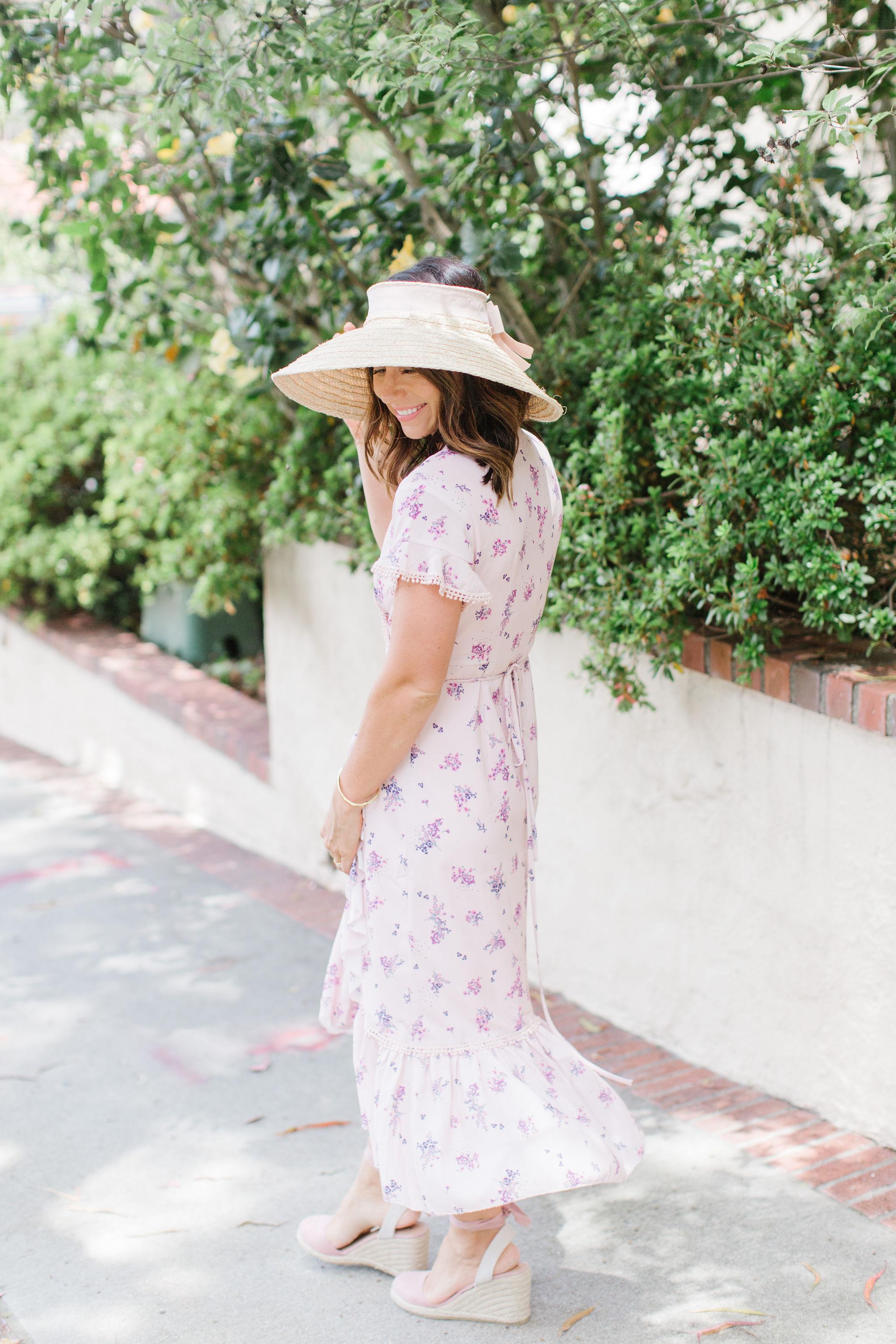 garden party floral dress