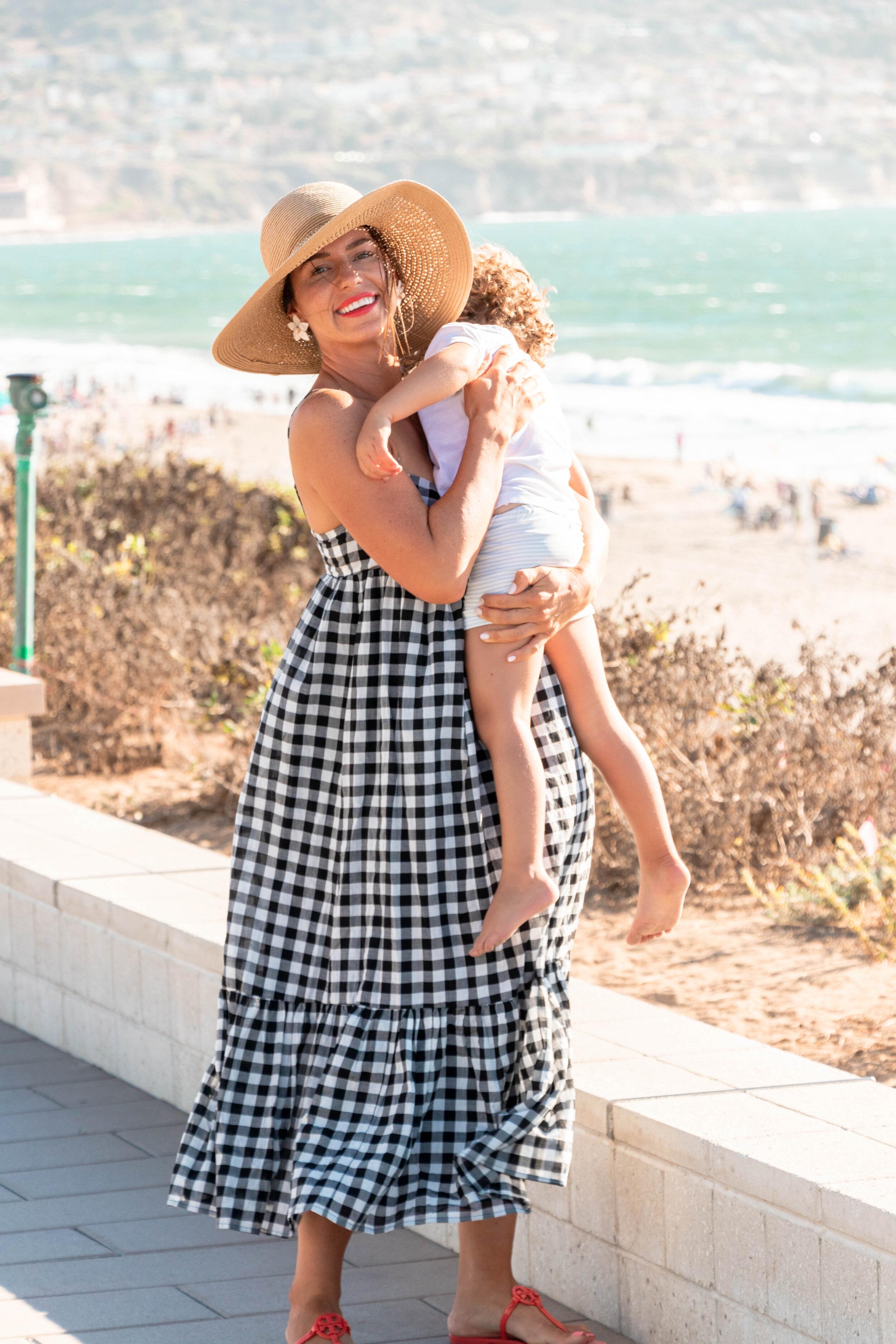 beach days with kids