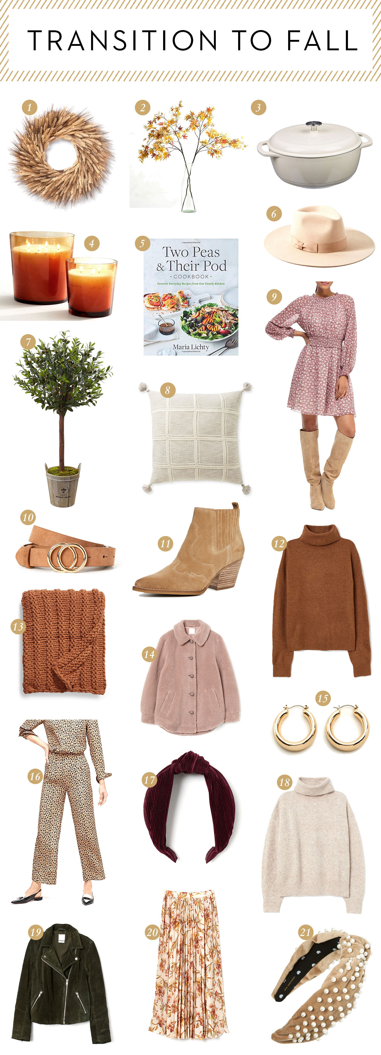 Favorite Items for your Home this Fall