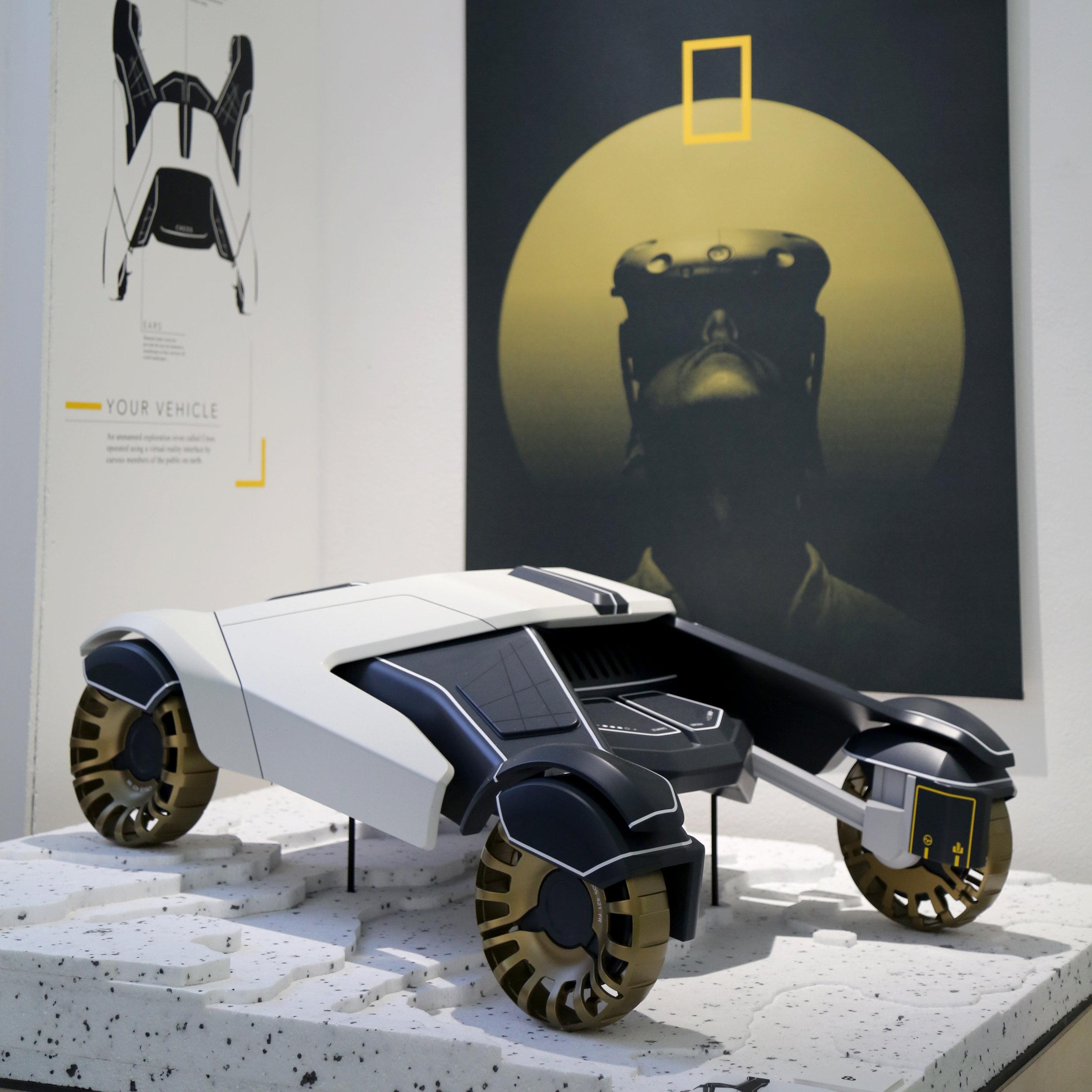 Brian Black - Royal College of Art - Car model