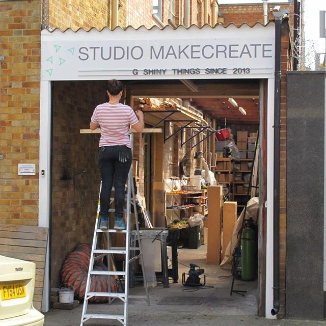 Flashback Friday - When we first put up our sign at our current premises in Peckham way back in 2014! . . . . #artfabrication #design #fabricator #propbuilding #craftspeople #designfabrication #maker #bespoke #artfabricators  #modelmaking #modelmakers #innovation #handmade #craft #sculpture #artwork #design #installation #fabricator #propmaking #craftspeople #designfabrication #maker #bespoke #artfabricators #modelmaking #modelmakers #manufacturing #art #peckham