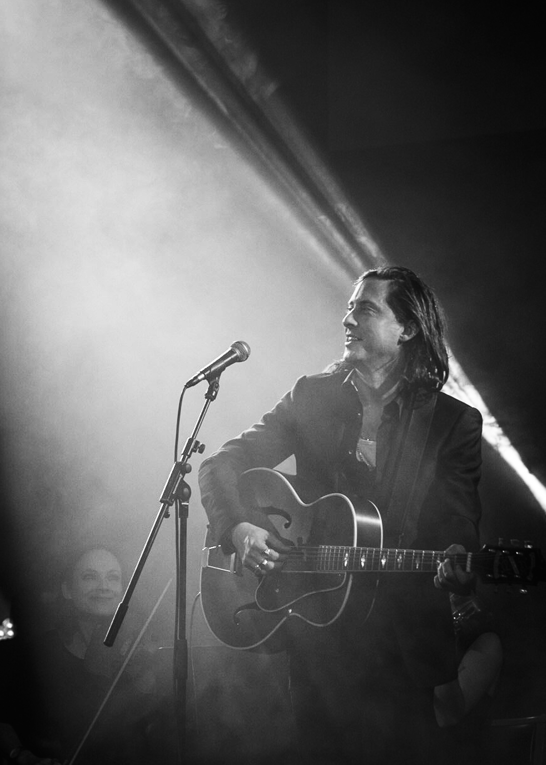 #CarlBarat at the #UnionChapel all for a great cause - @theflyingseagulluk