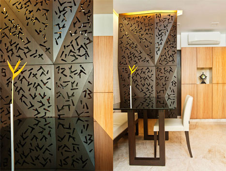 DINING TABLE + ENTRANCE SCREEN