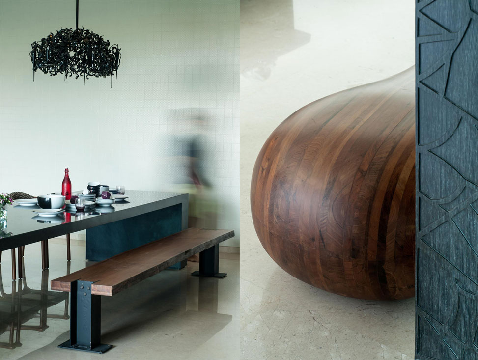 DINING BENCH + DUMBBELL BENCH DETAIL
