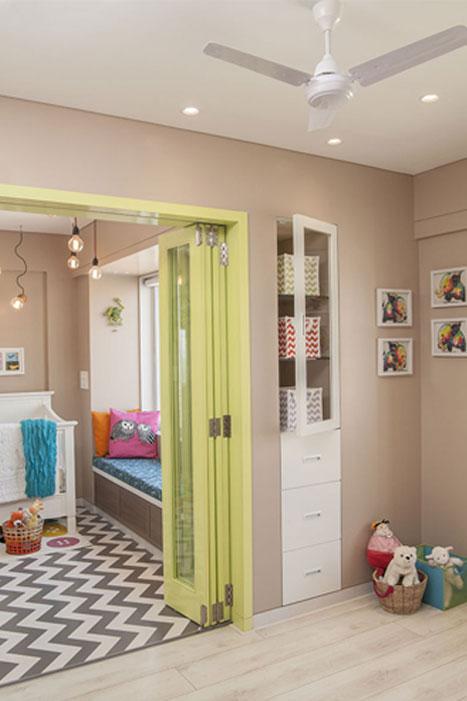 PLAYROOM + BEDROOM