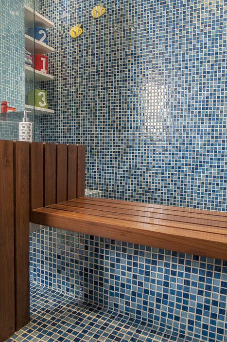 BATHROOM VANITY COUNTER/ BENCH DETAIL