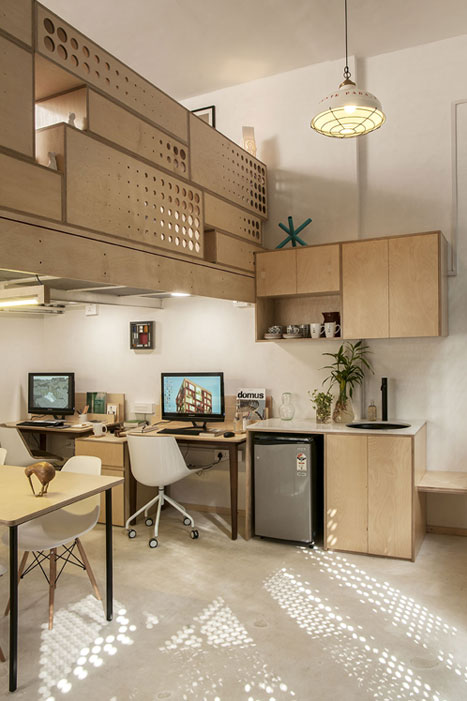 DESKS AND PANTRY