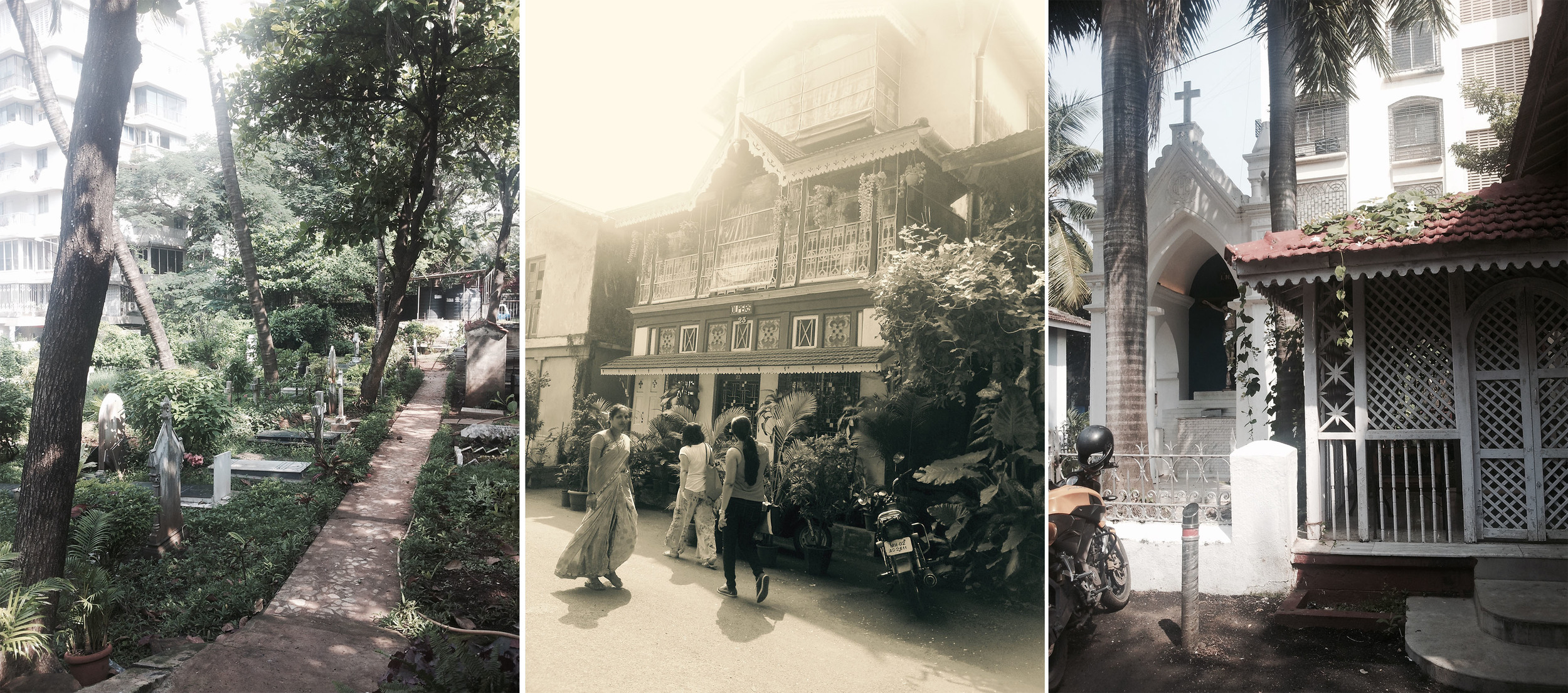 Cemetery at St. Stephen's Church  and some hidden gems around Bandra.