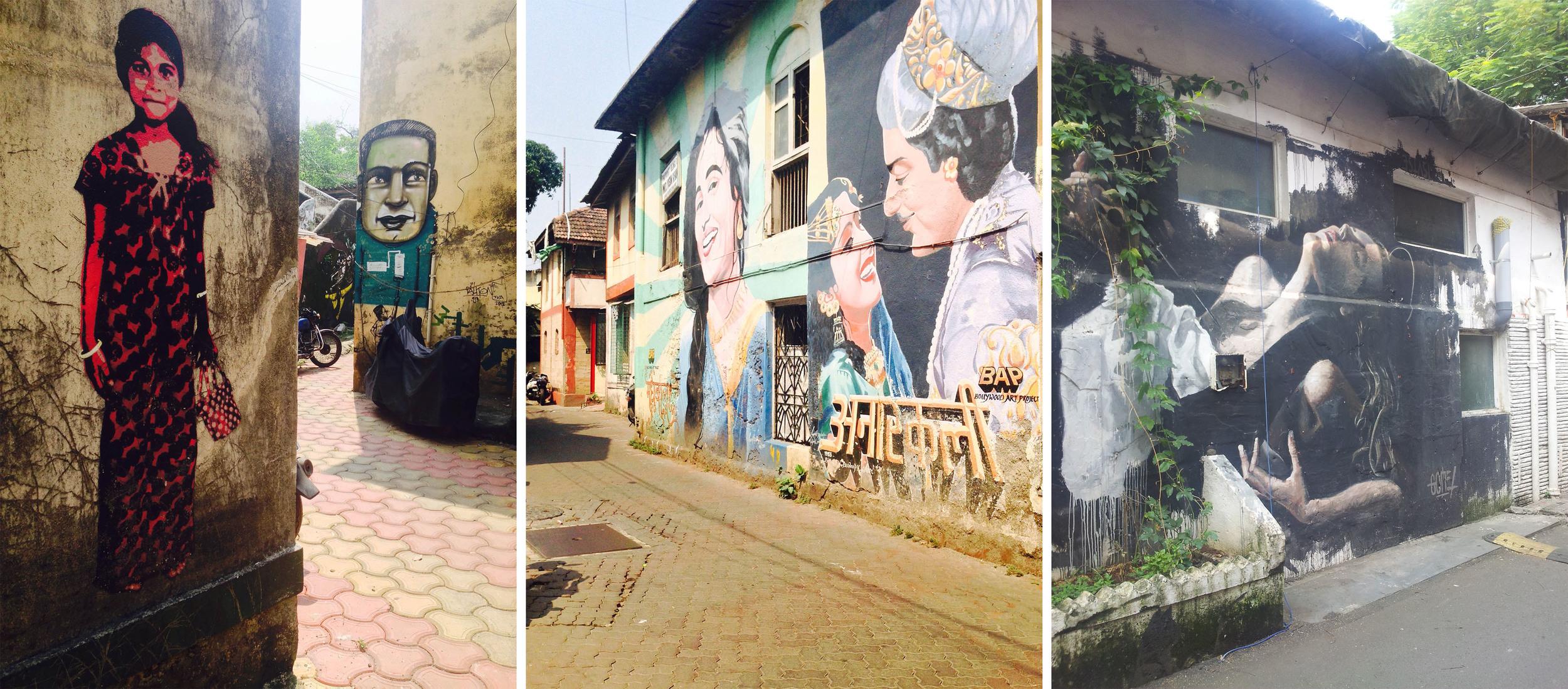 Street Art  at Ranwar.