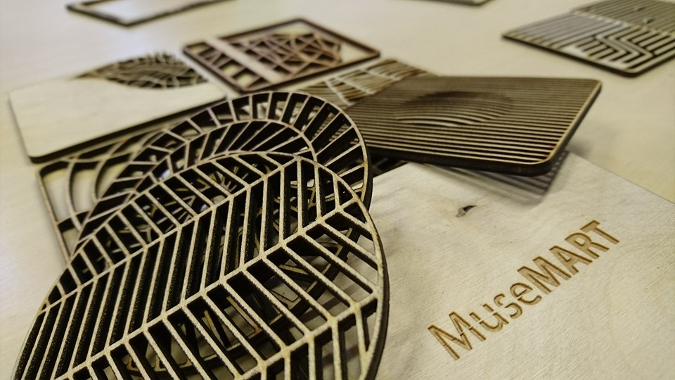 Products designed by MuseLAB for MuseMART coming soon.
