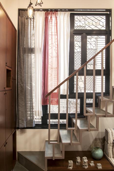 BEDROOM 1 LOFT STAIRS
