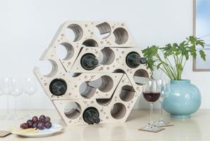 'Say Cheese,' Modular Wine Rack