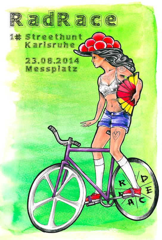 RAD RACE Street Hunt Karlsruhe