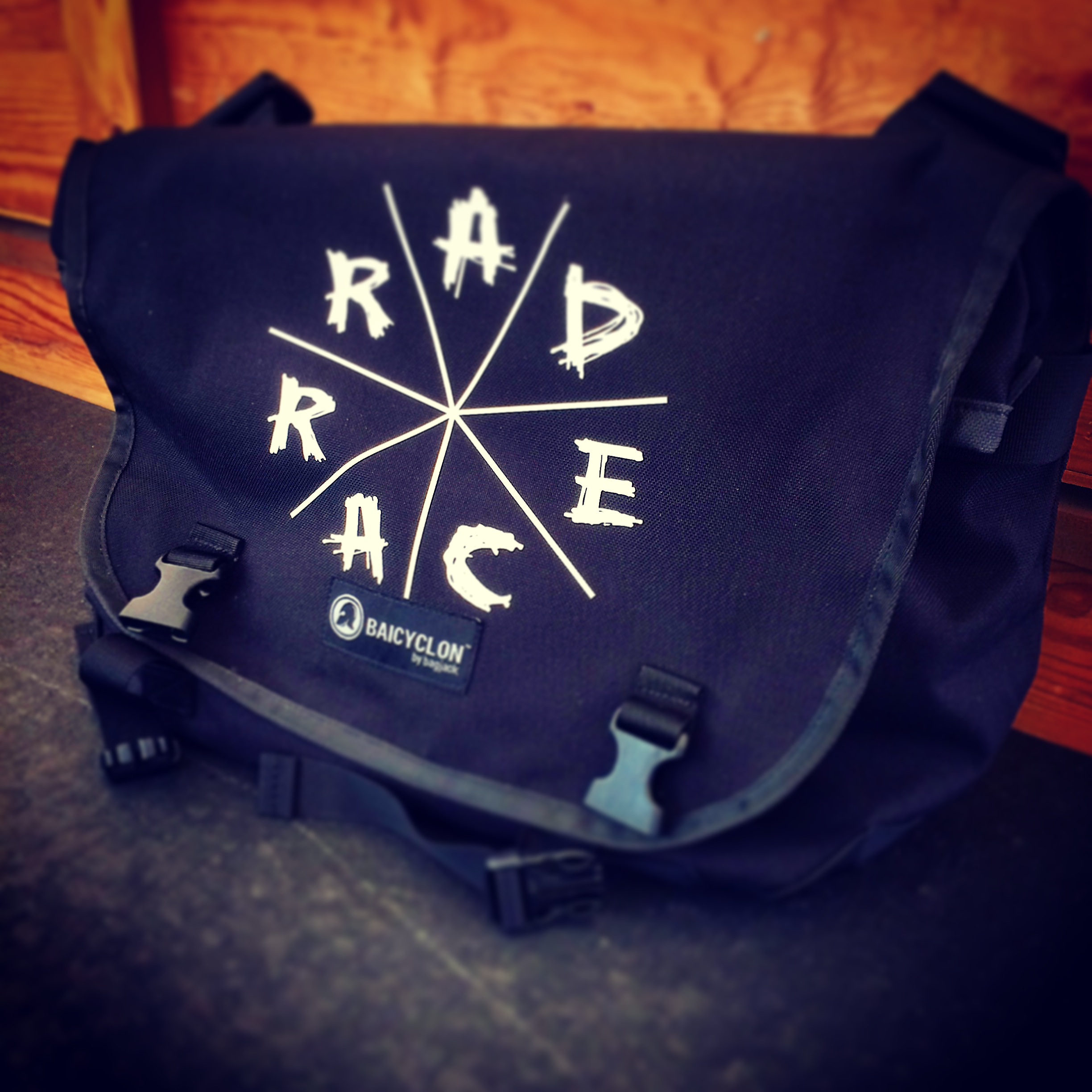 RAD RACE x Baicyclon Messenger Bag