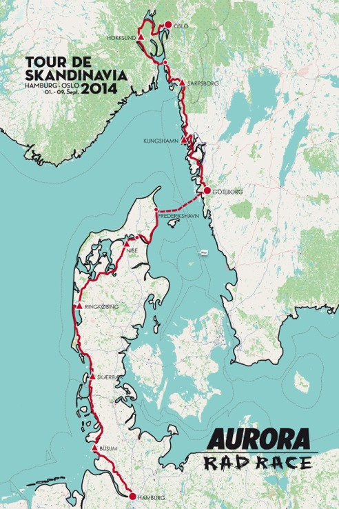 RAD RACE Tour de Skandinavia