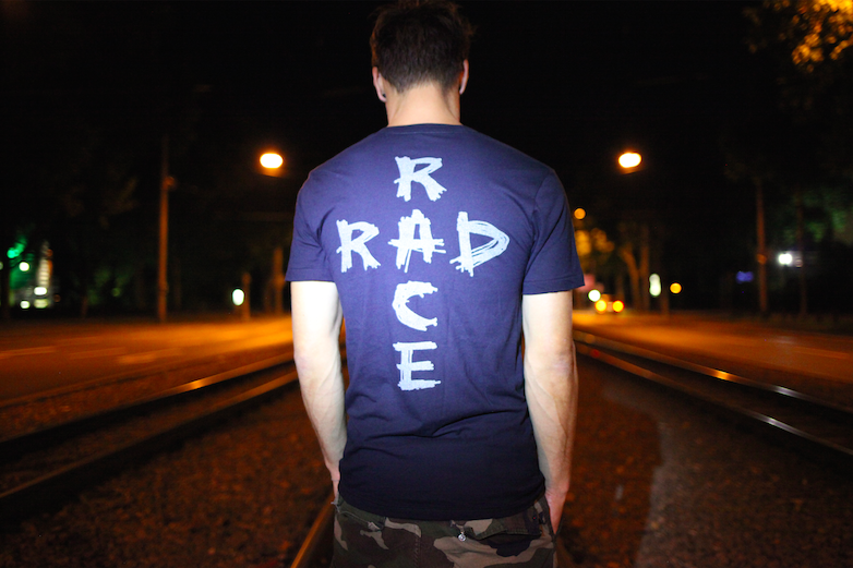 RAD RACE Black Reflective Shirt.  Available NOW !