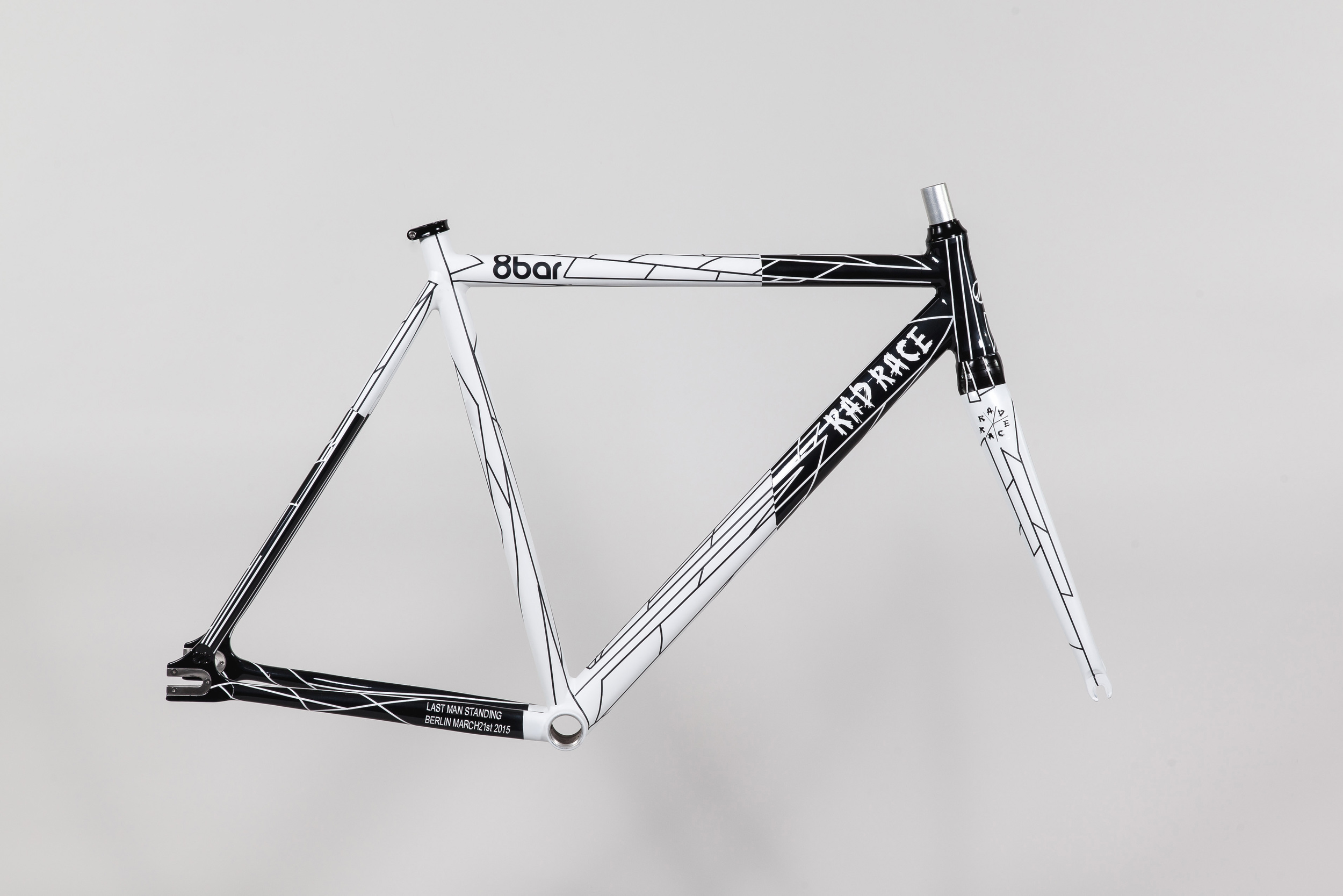 8bar x RAD RACE frame set