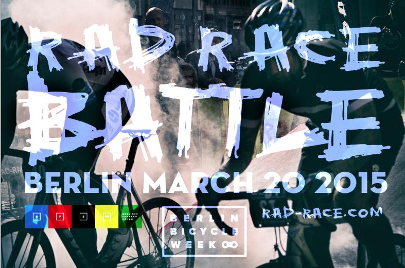 RAD RACE Battle Berliner Fahrrad Schau 2015