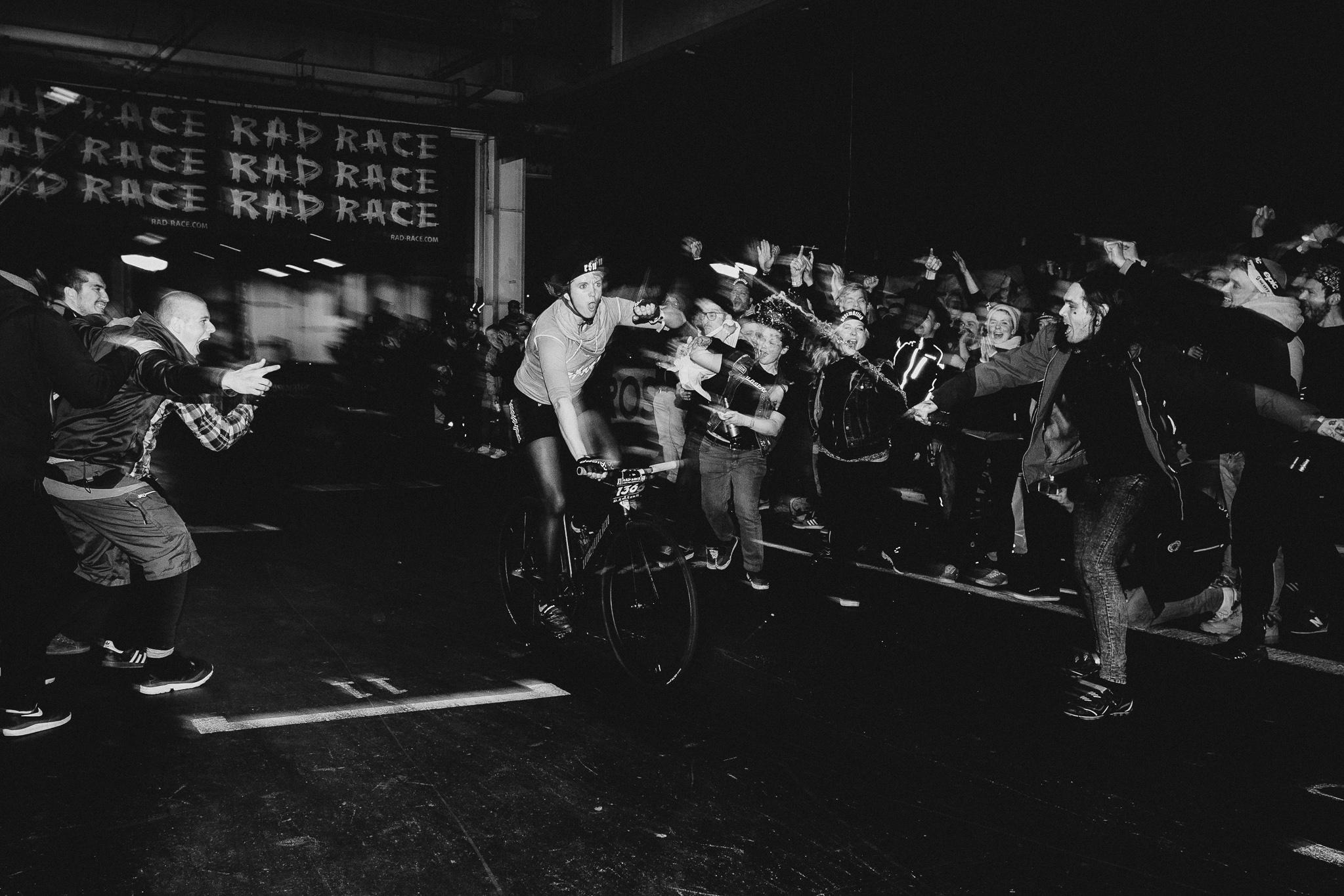 Last Woman StandinG: Marion Dzwinik // Radsportgruppe Ungemütlich