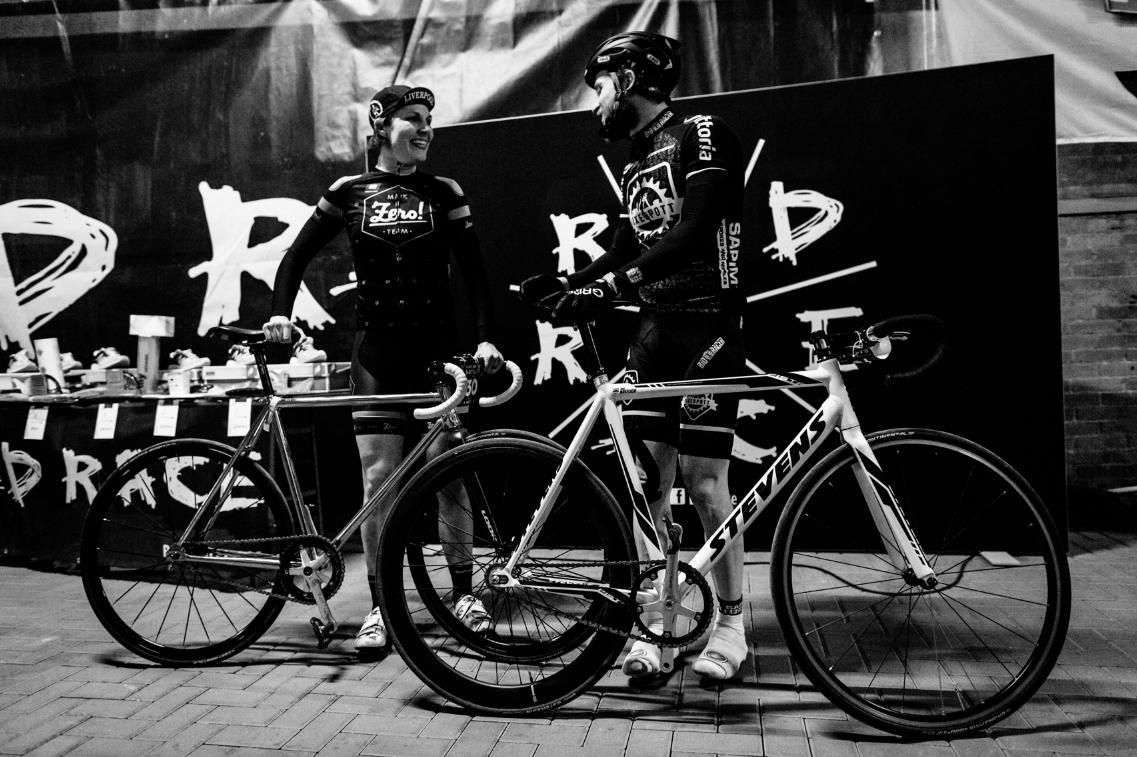 RAD RACE Battle Winners Johanna Jahnke & Max Höflich.