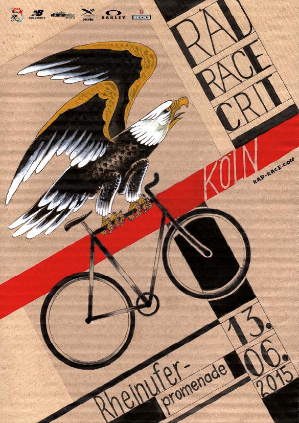 RAD RACE CRIT KÖLN 13.06.2015