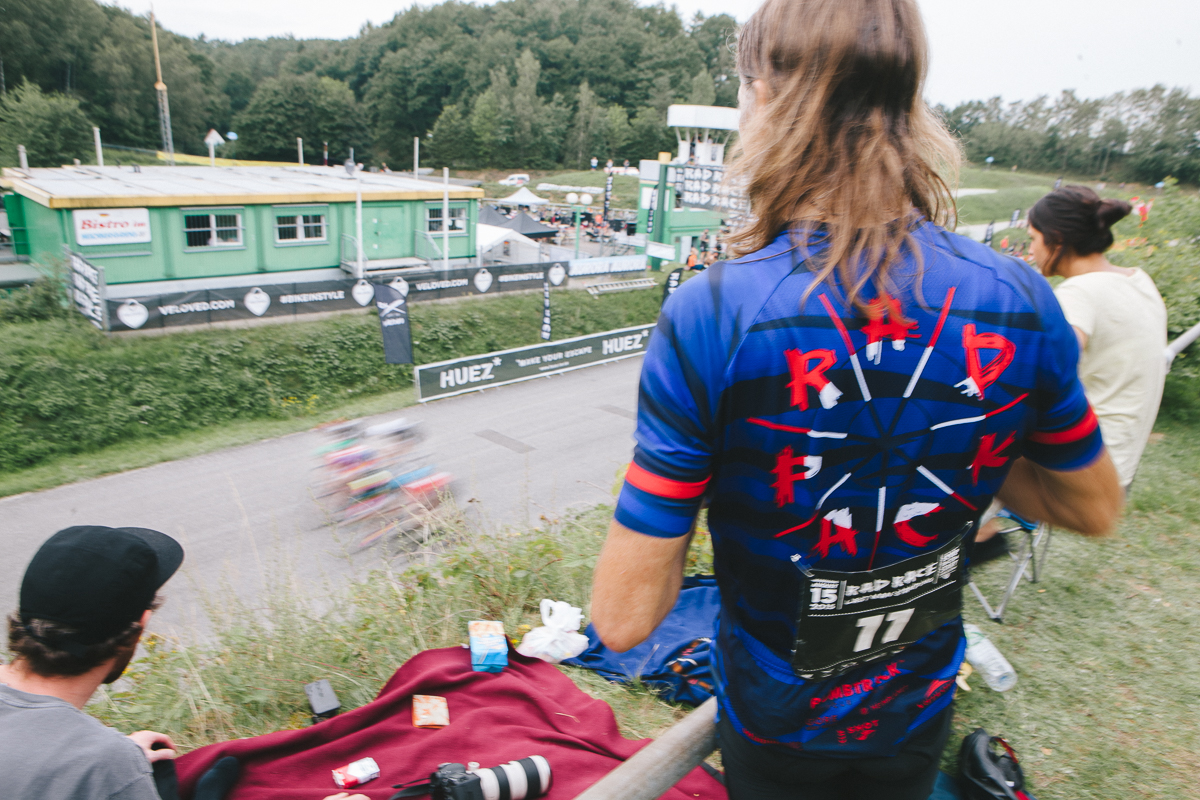 Next event of the rad race series - rad race last man standing, heidbergring, august 13 & 14.