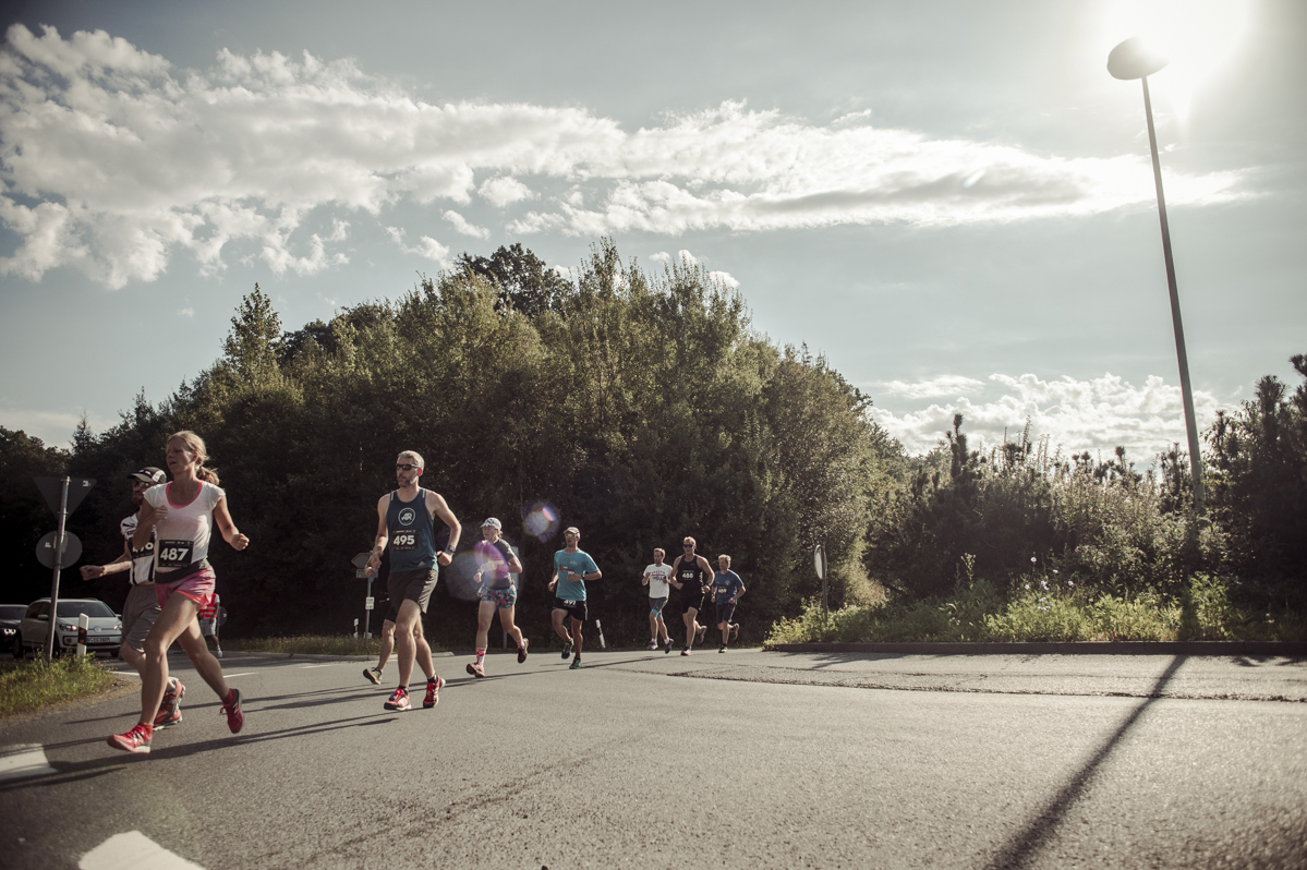 It's already tough to cycle up the Feldberg, but running...PIC BY NILS LAENGNER.