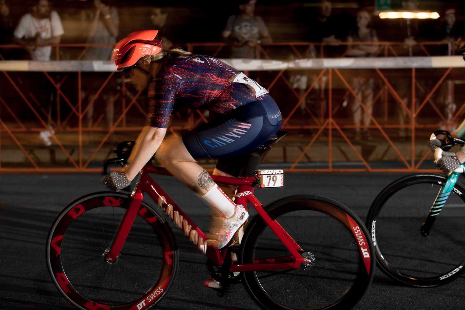 Maria Jatkovics at Red Hook Crit.