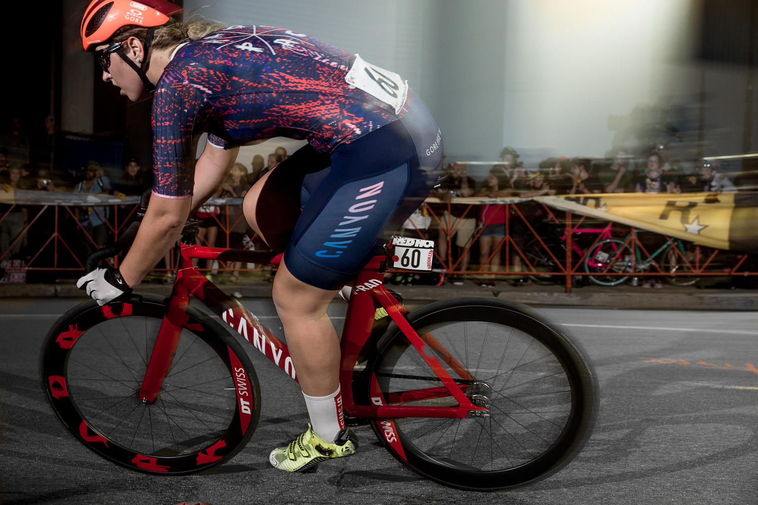 Tamika Hingst RAD PACK, Red Hook Crit