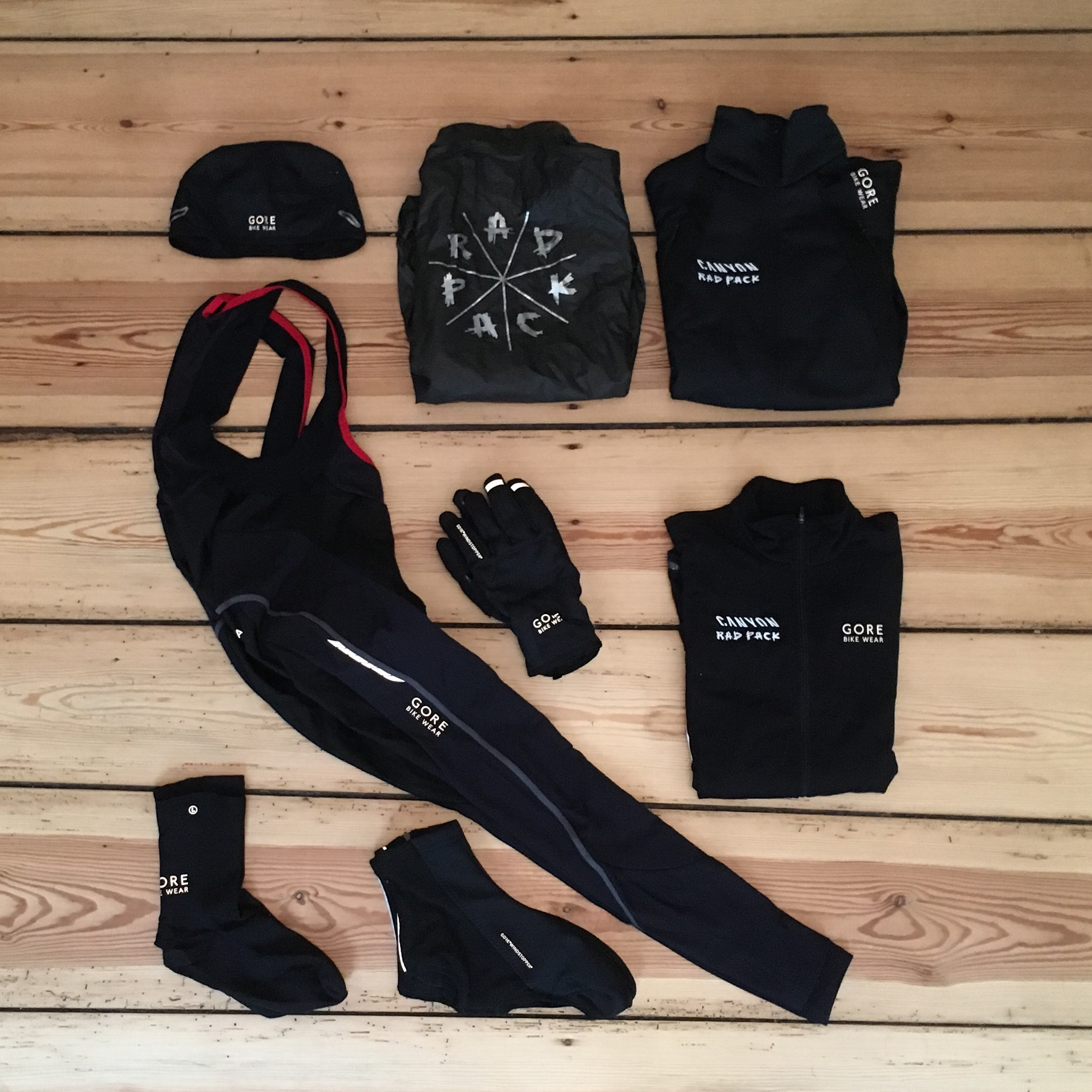 RAD PACK x GORE BIKE WEAR