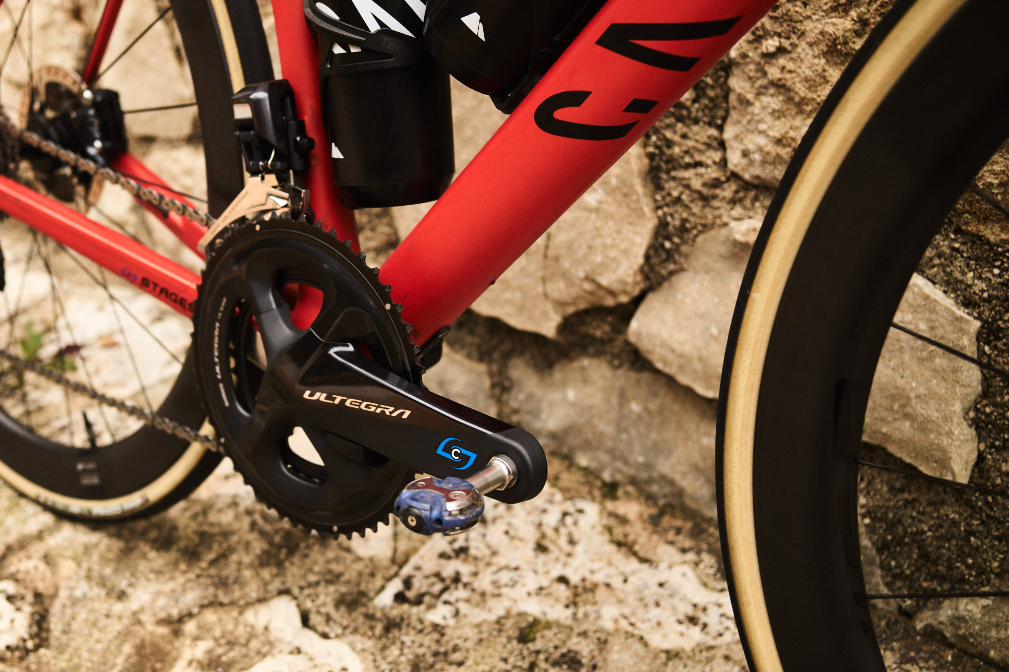 The Stages Power LR Shimano Ultagra R8000.