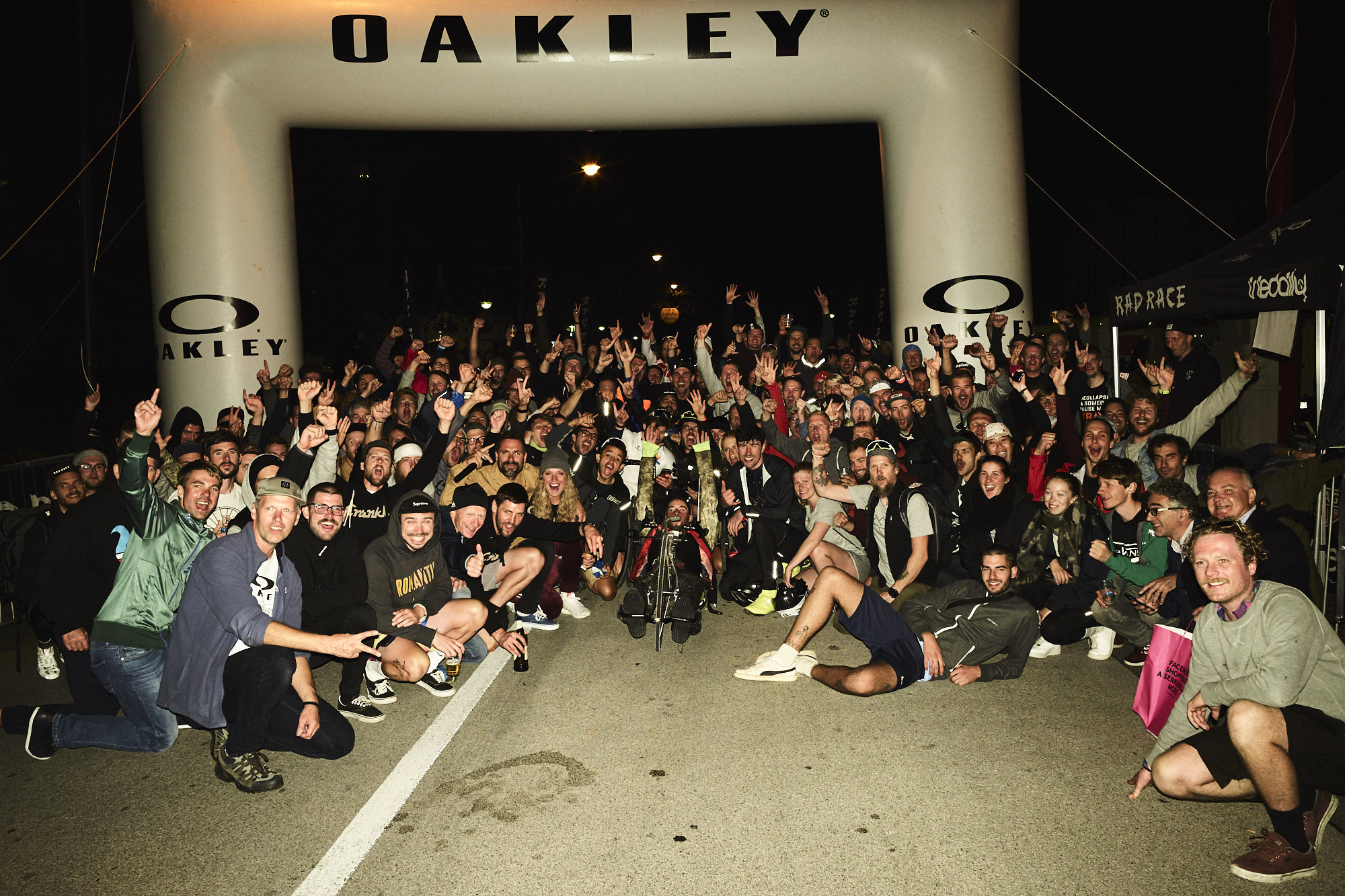 5 nights in a row. RAD RACE BLOCK PARTY on the Tour de Friends!