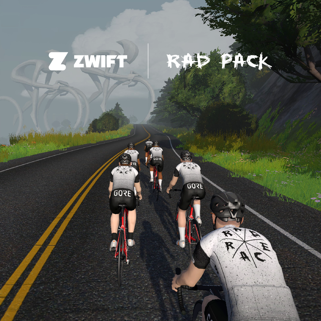 The RAD RACE cycling kit in the digital world…