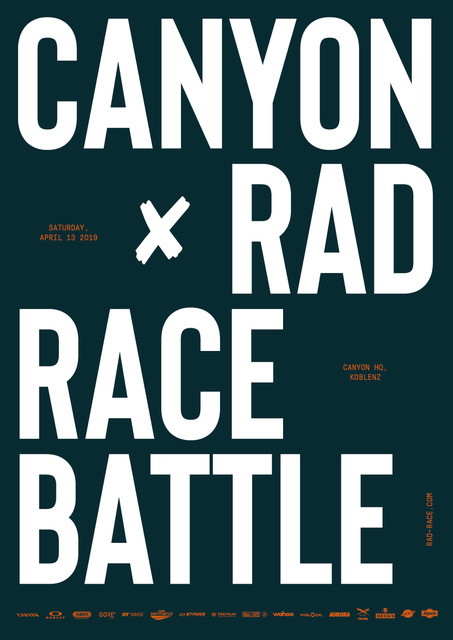 CANYON X rad race battle Koblenz 13.04.2019