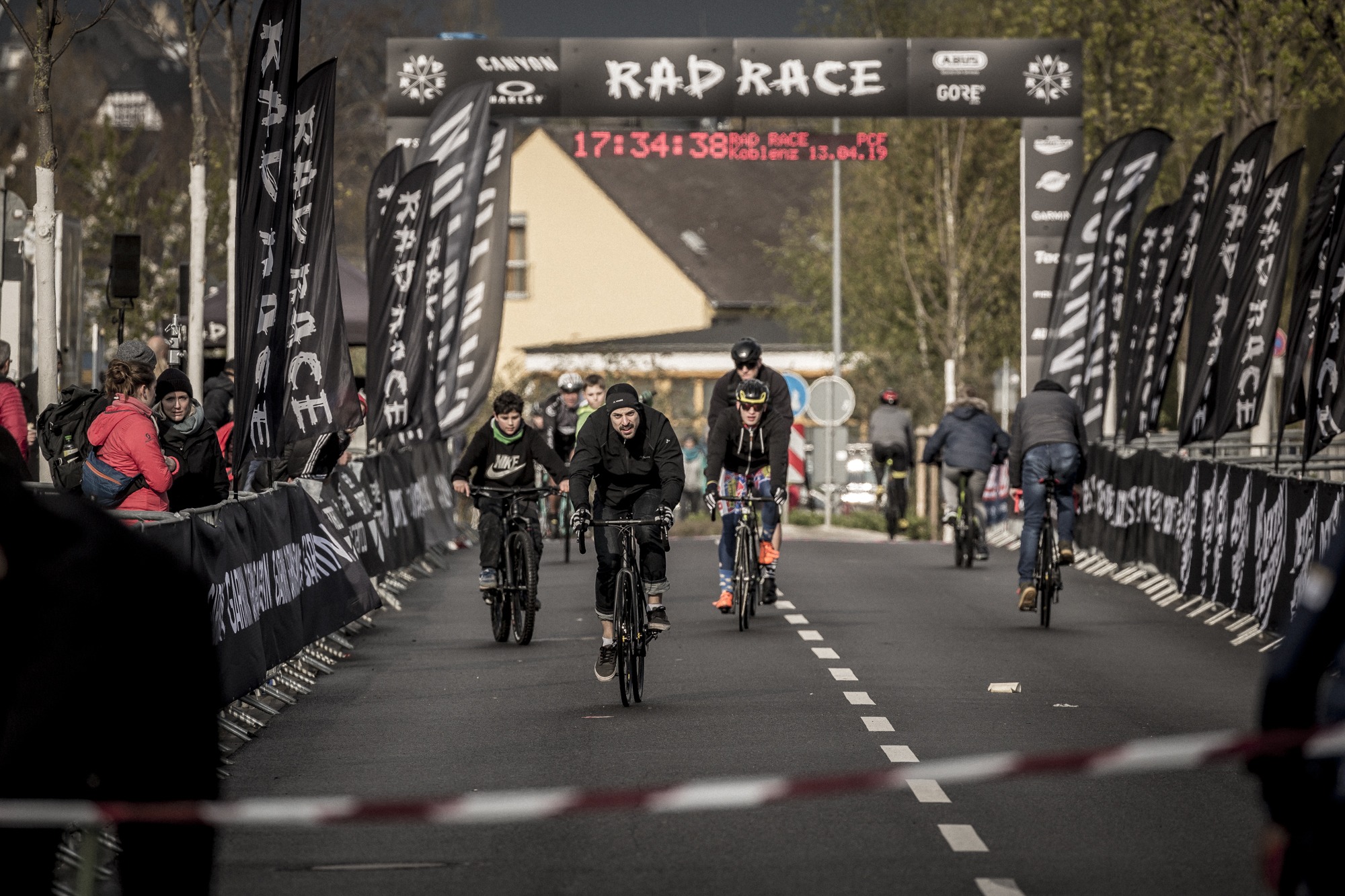 WARM UP AT THE CANYON X RAD RACE BATTLE IN KOBLENZ PIC BY Arturs Pavlovs