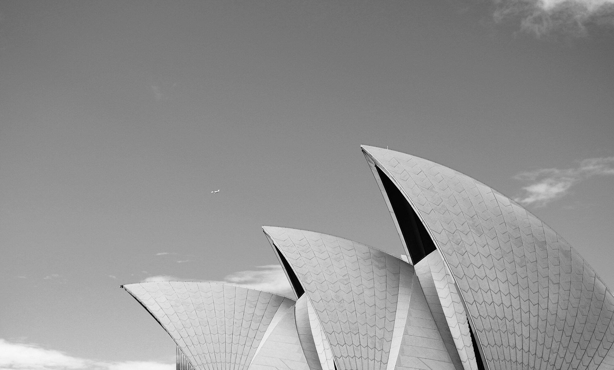 BLAK Private Jets Australia   Sydney Opera House