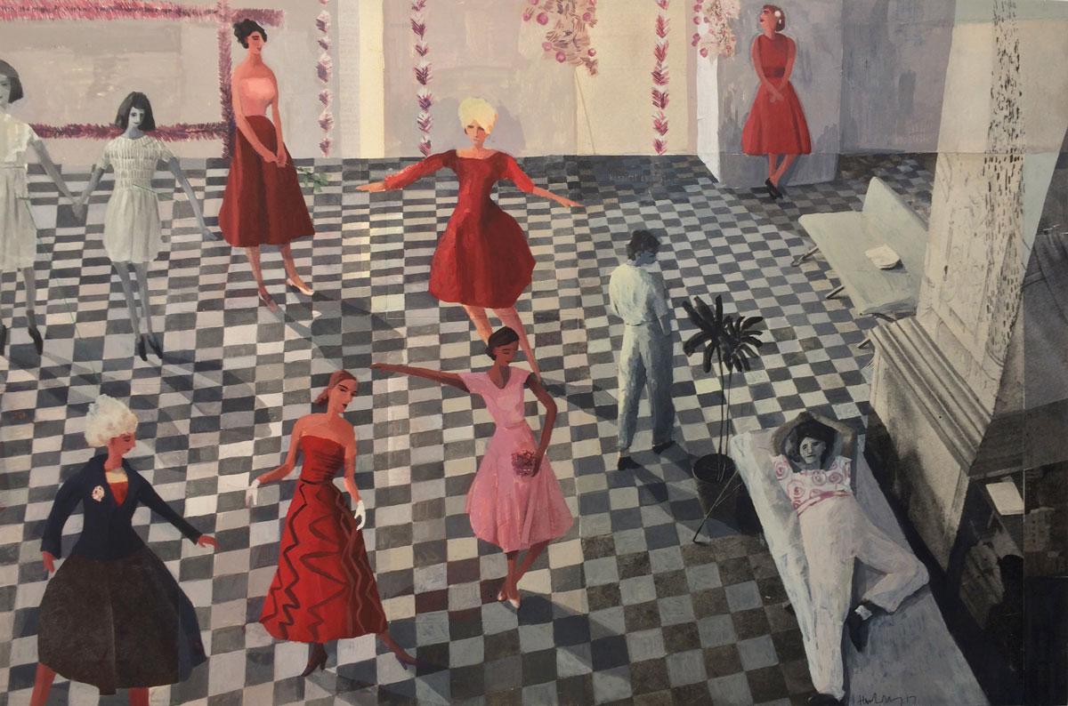 10 Ladies Dancing