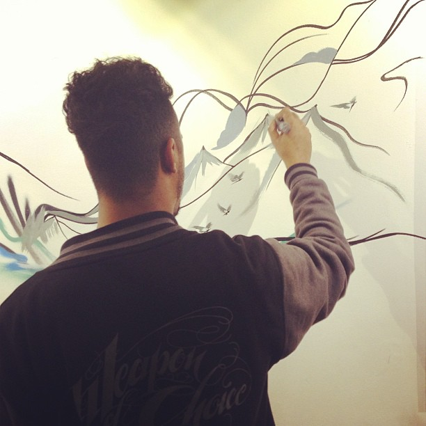 Live painting & pop up shows