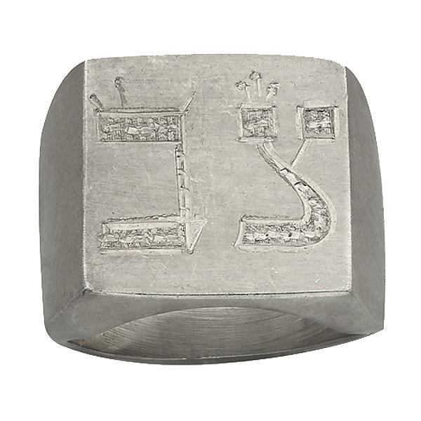 "Sterling silver ring, ""Aquarius"""