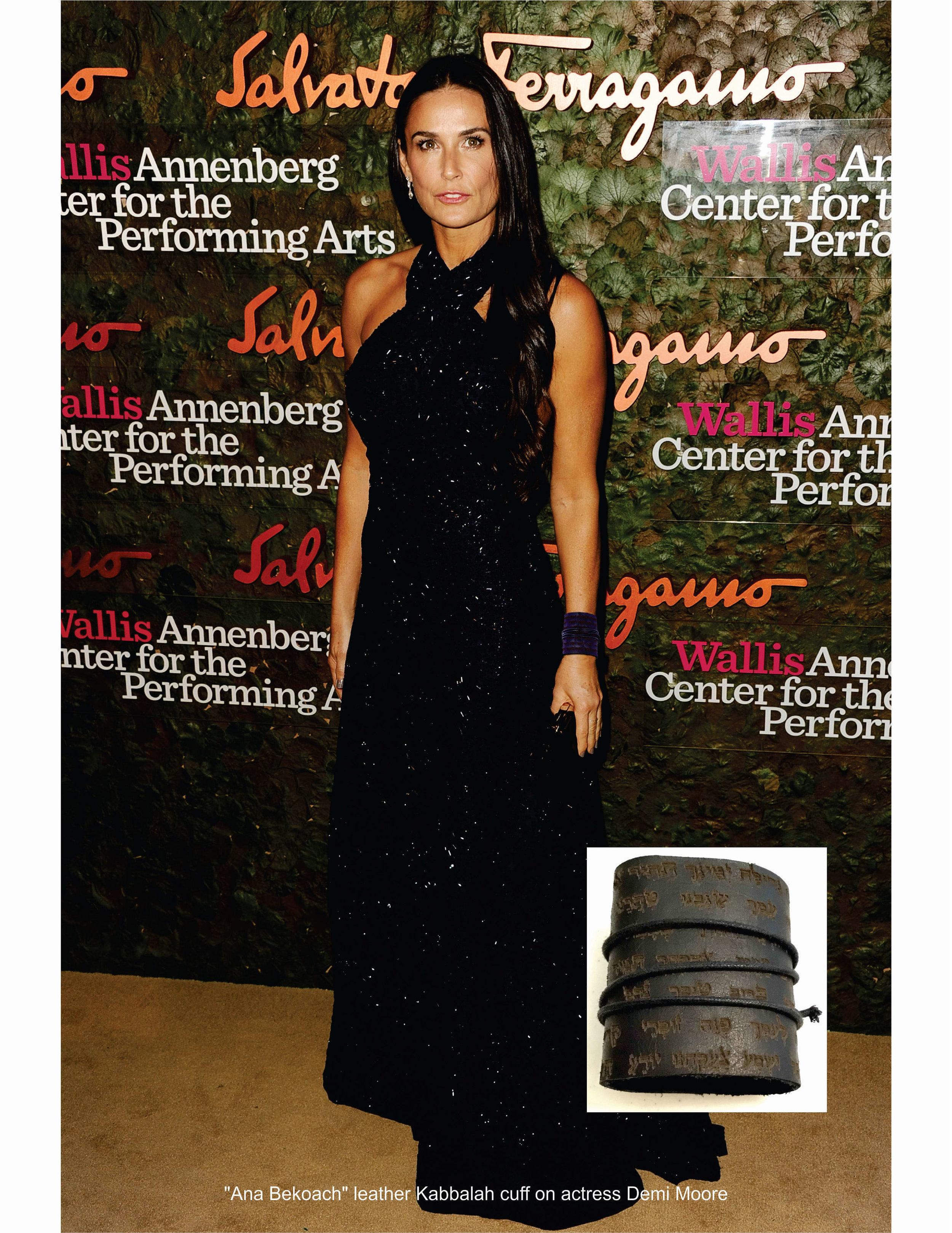Demi Moore in Ana Bekoach cuff