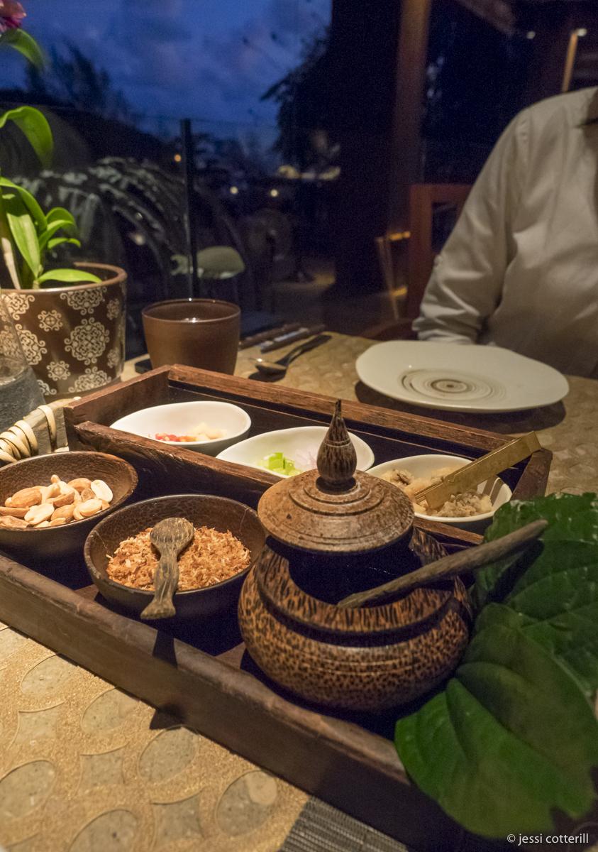 Thai herbal snack