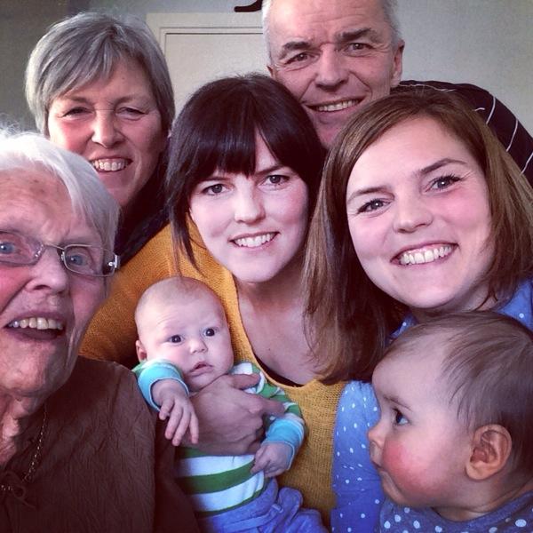 Fyra generationer Kallur