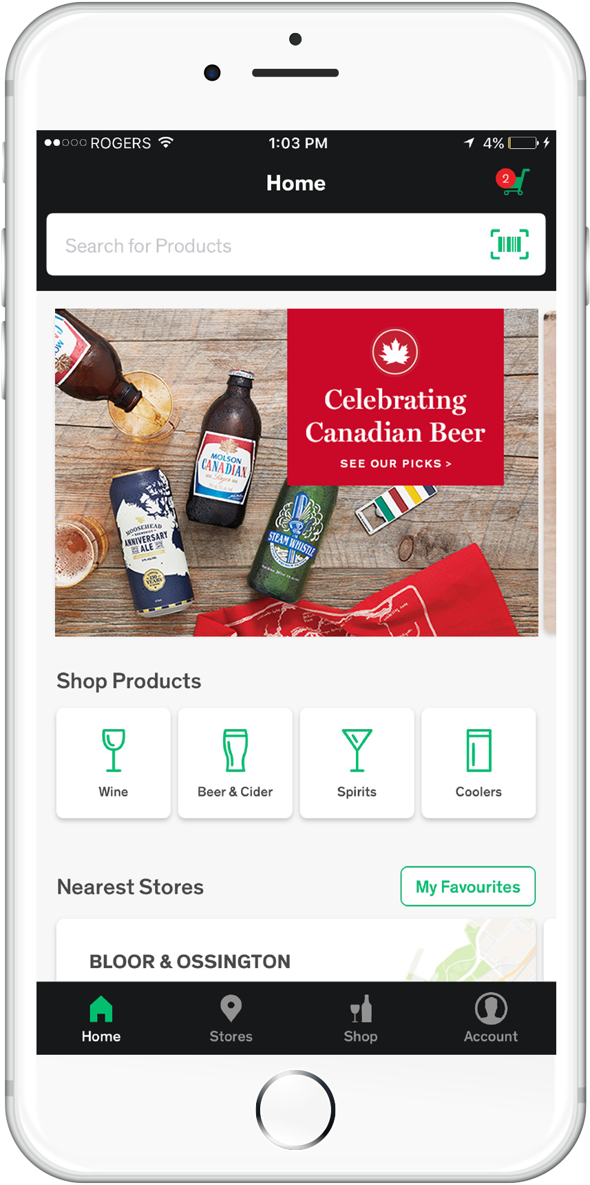 LCBO On-the-Go App