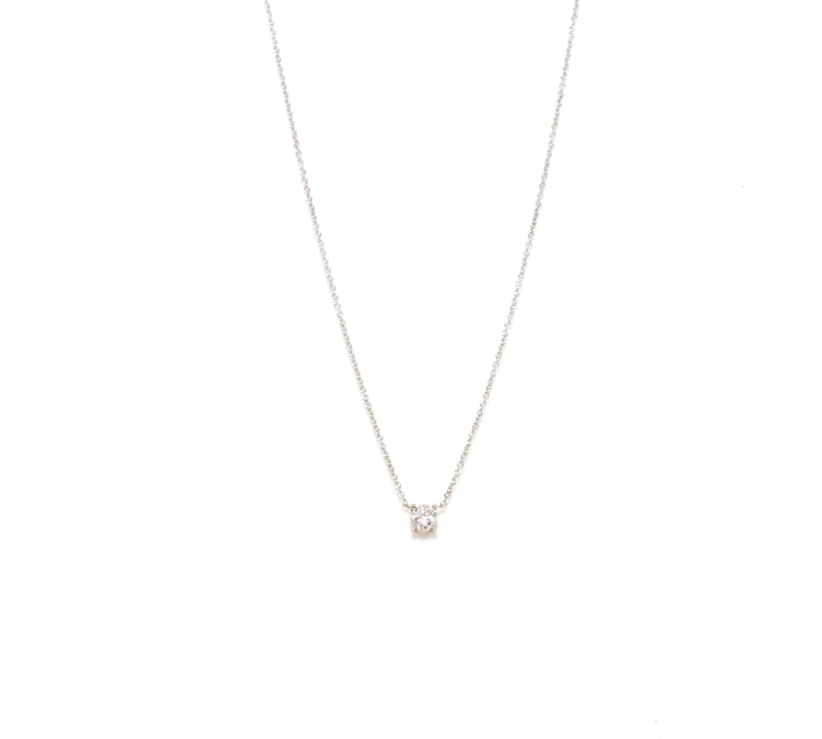 The Single Stone (Small) by The M Jewelers Ny
