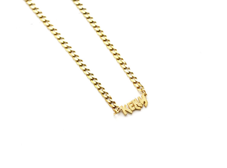 The Camden Mini Choker Nameplate by The M Jewelers Ny