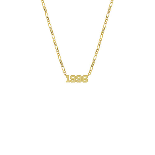 The Year Nameplate Necklace by The M Jewelers Ny
