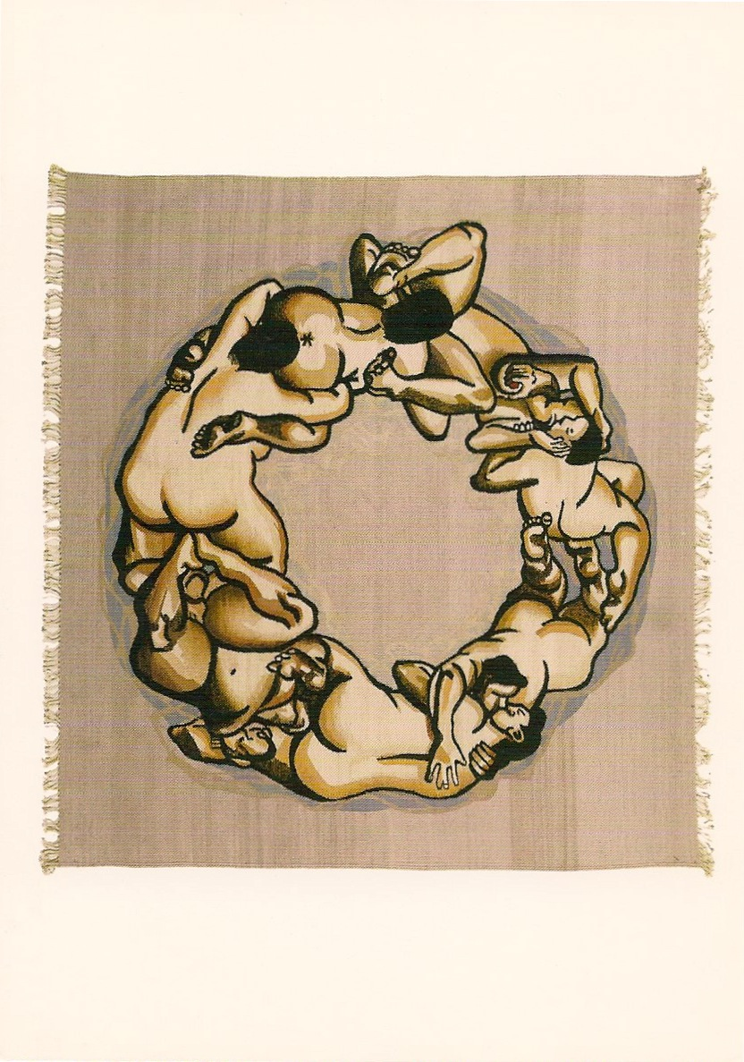 Nicole Eisenman Untitled,1997 55 x 58 inches Edition of 6 with 3 proofs